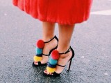 15 Pom Pom Heels For Every Fashionable Girl  7