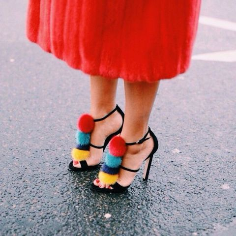 15 Pom Pom Heels For Every Fashionable Girl