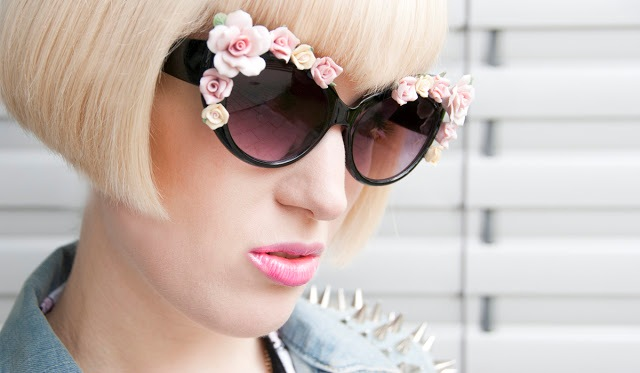 Picture Of Romantic Flower Sunglasses For Summer 10