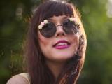 15 Romantic Flower Sunglasses For Summer8