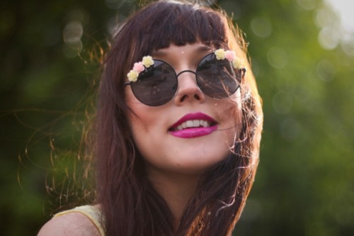 Romantic Flower Sunglasses For Summer