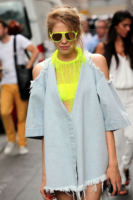 15 Sexy Bright Framed Sunglasses For Summer