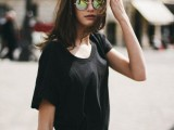 15 Stylish Looks With Round Sunglasses15