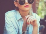 15 Stylish Looks With Round Sunglasses7