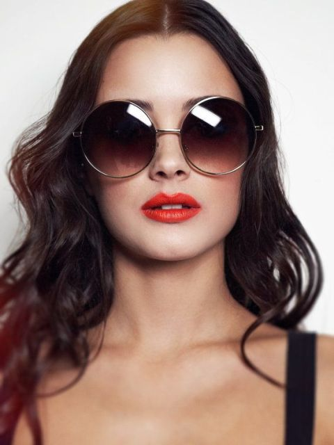Stylish Looks With Round Sunglasses