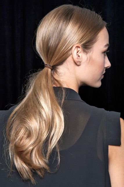 15 Stylish Ways To Wear Low Ponytails Styleoholic