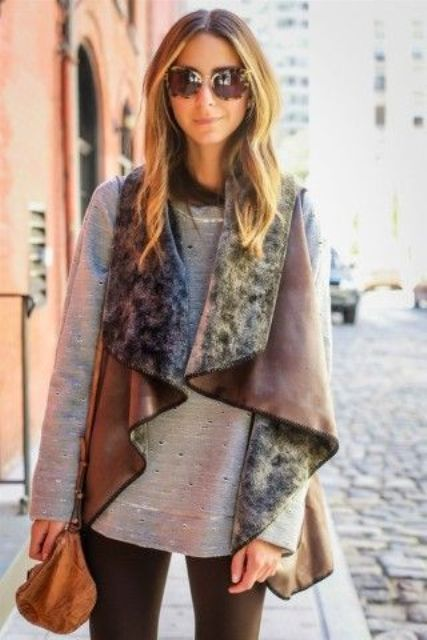 Totally Chic Vests For This Fall