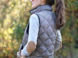 15 Totally Chic Vests For This Fall5