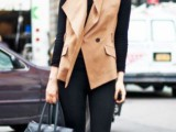 15 Totally Chic Vests For This Fall8
