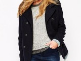 15 Trendy Reefer Coat Ideas For This Winter7