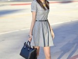 15 Unique Work Outfits With Dresses15