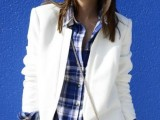 15 Ways To Wear Checked Clothes At Office9
