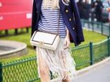 15 Ways To Wear Fringe Skirts Right This Season6