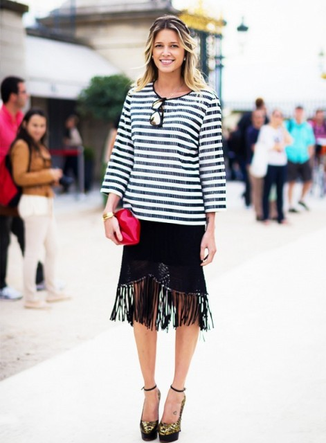 Ways To Wear Fringe Skirts Right This Season