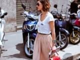 15 Ways To Wear Long Skirts This Season13