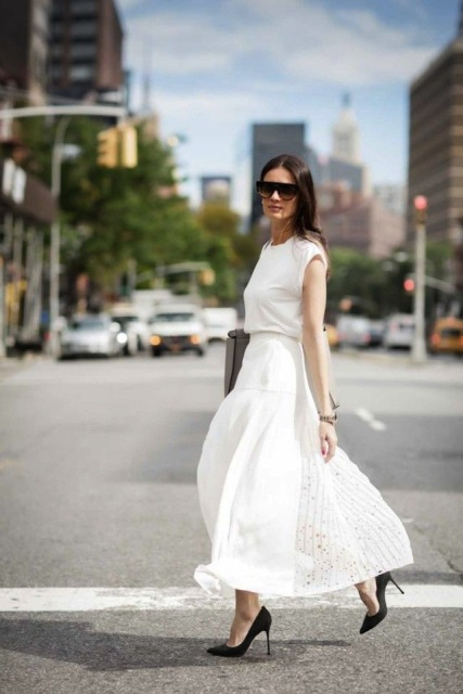 Ways To Wear Long Skirts This Season