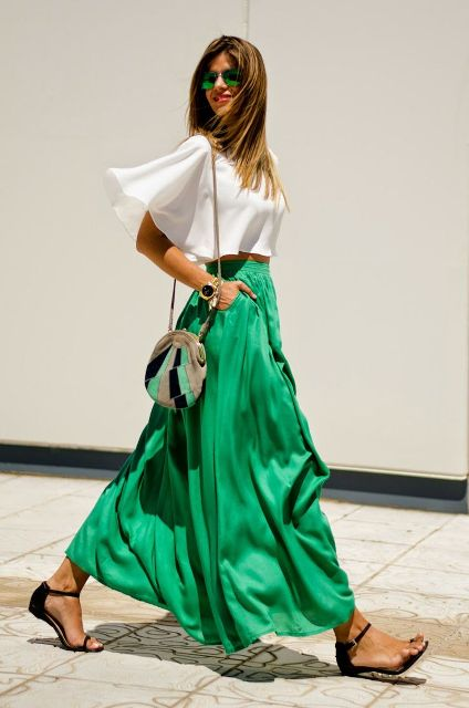 15 Ways To Wear Long Skirts This Season