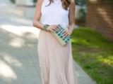 15 Ways To Wear Long Skirts This Season8
