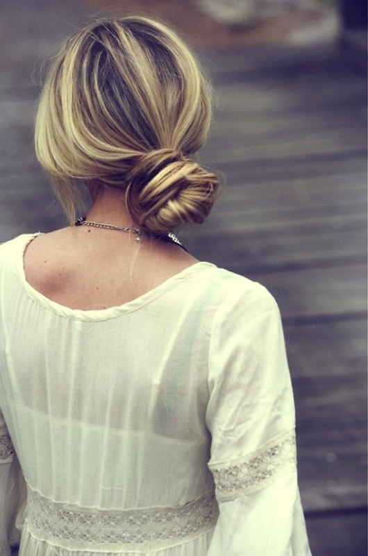 Picture Of chic and easy windy weather hairdos  10