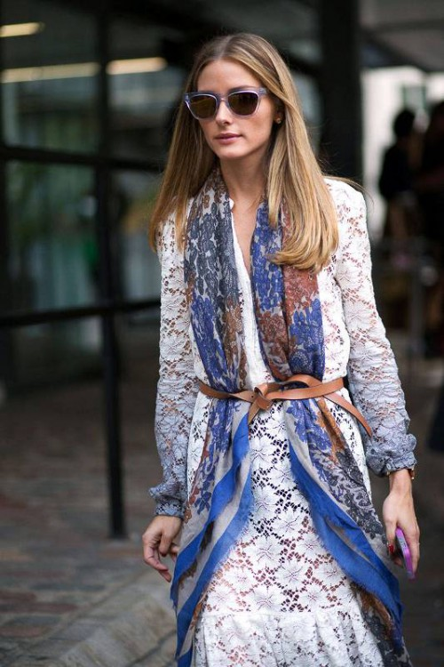 15 Chic Belted Scarf Trend To Try This Fall And Winter
