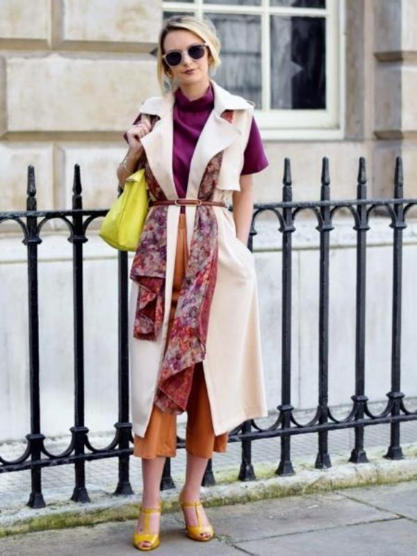Picture Of chic belted scarf trend to try this fall and winter  12