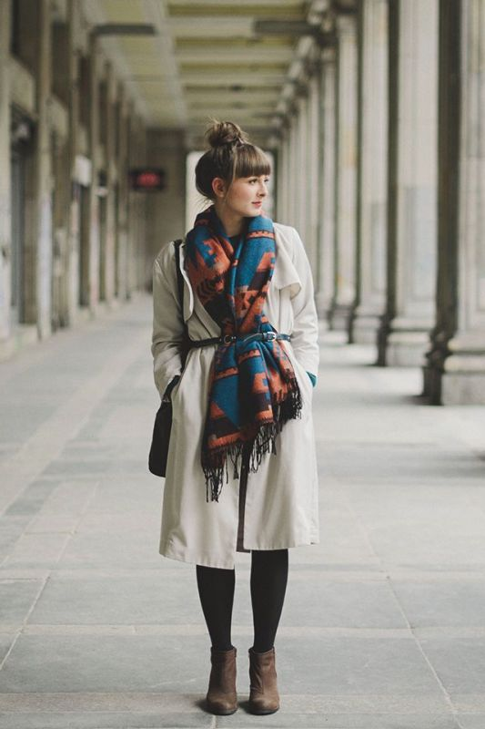 Picture Of chic belted scarf trend to try this fall and winter  2