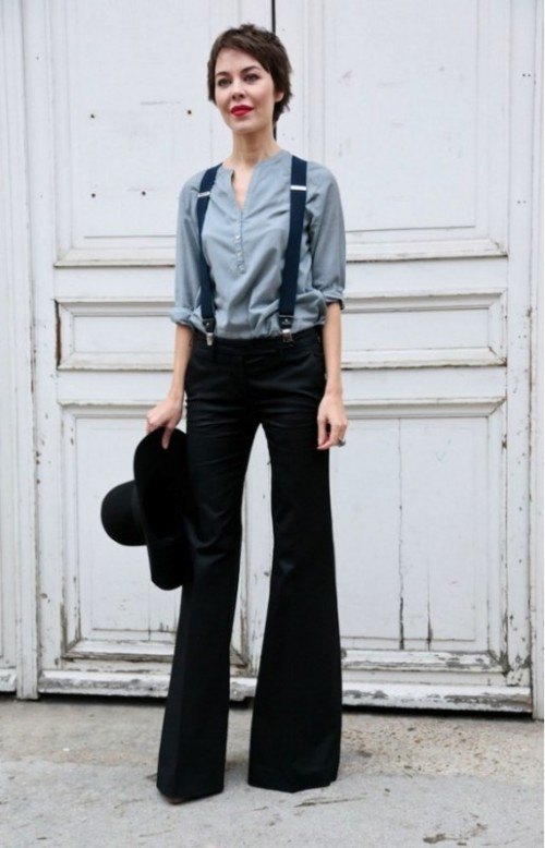 15 Cool Looks With Suspenders To Love And Recreate Now