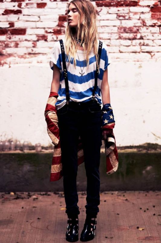Picture Of cool looks with suspenders to love and recreate now  10