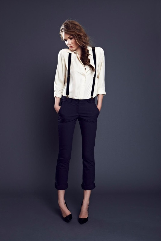 Picture Of cool looks with suspenders to love and recreate now  11