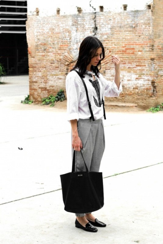 Picture Of cool looks with suspenders to love and recreate now  13