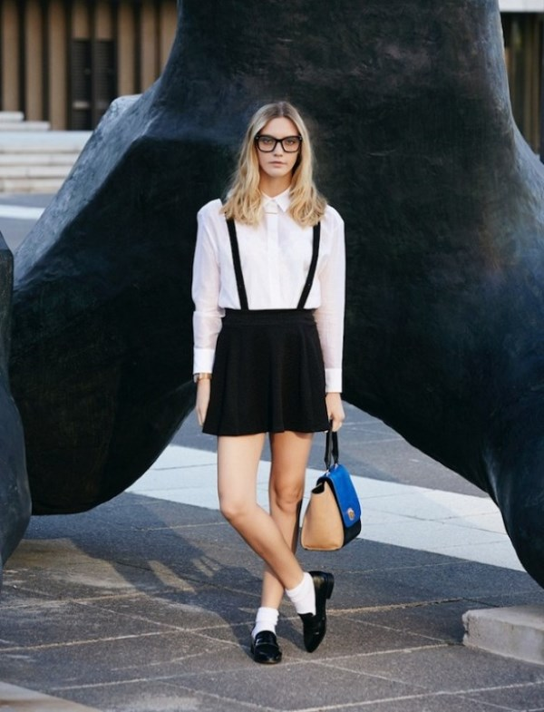 Picture Of cool looks with suspenders to love and recreate now  4