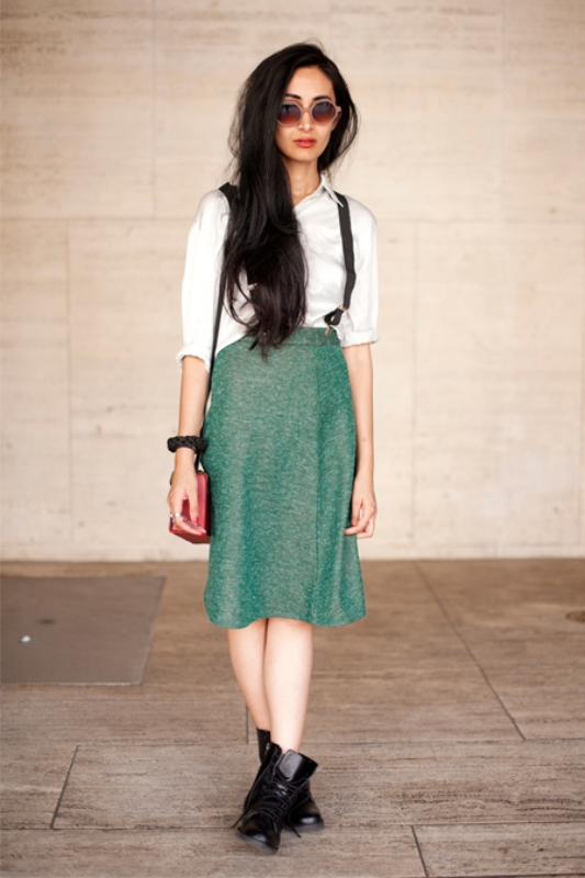 Picture Of cool looks with suspenders to love and recreate now  5