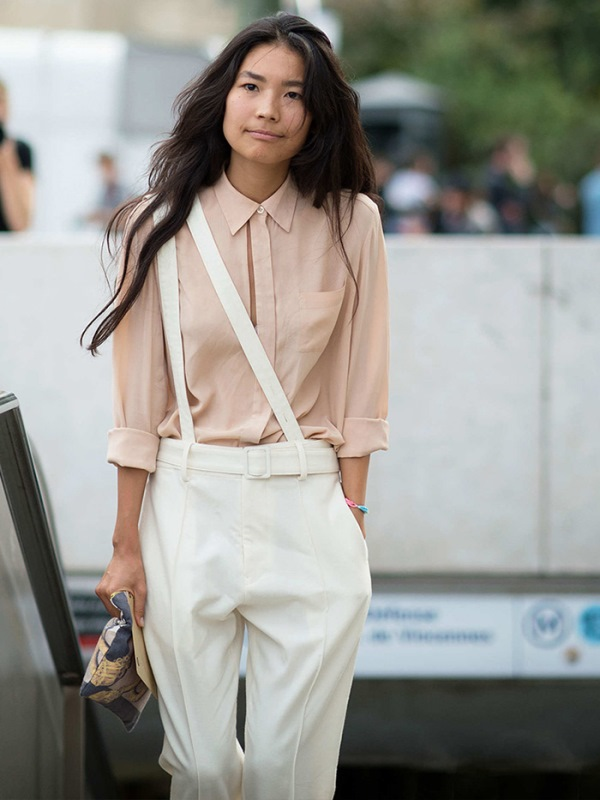 Picture Of cool looks with suspenders to love and recreate now  6