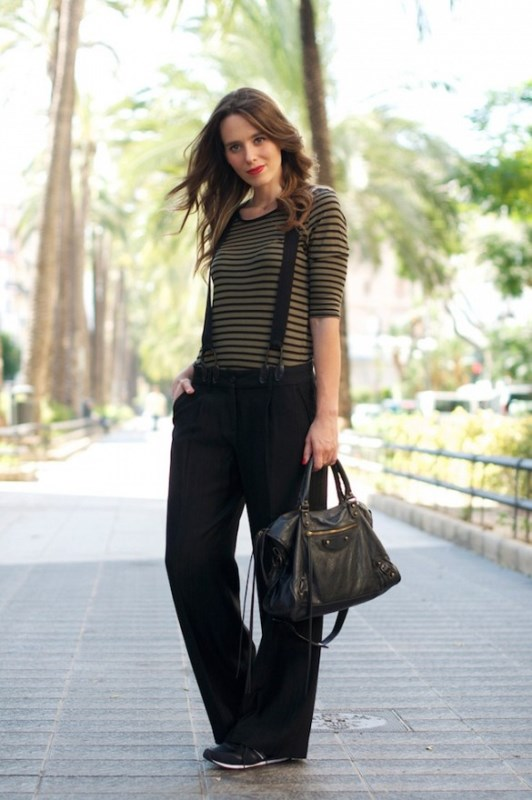 Picture Of cool looks with suspenders to love and recreate now  7