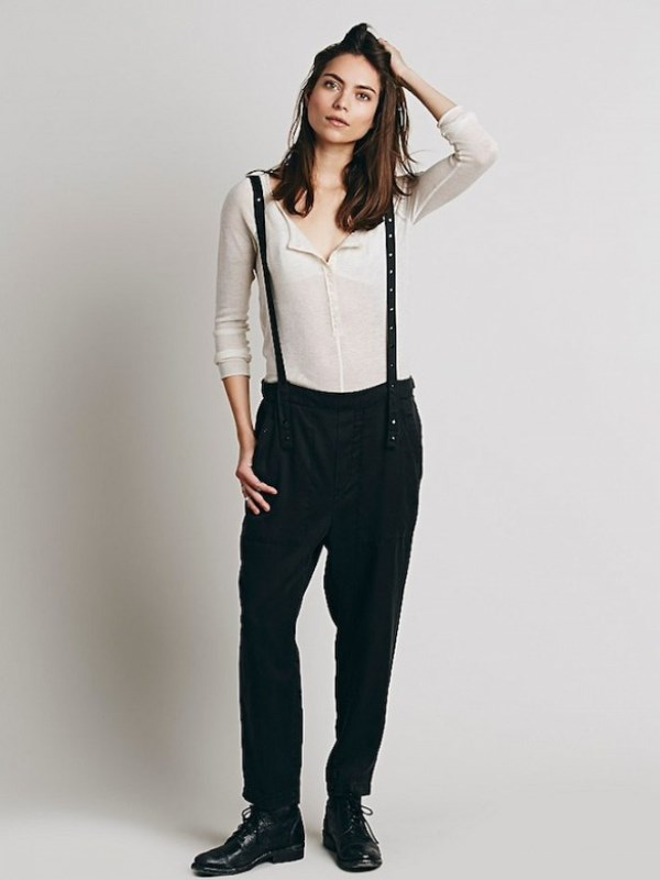 Picture Of cool looks with suspenders to love and recreate now  8