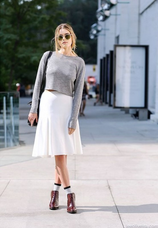 Picture Of cool ways to style a simple sweater for spring  1