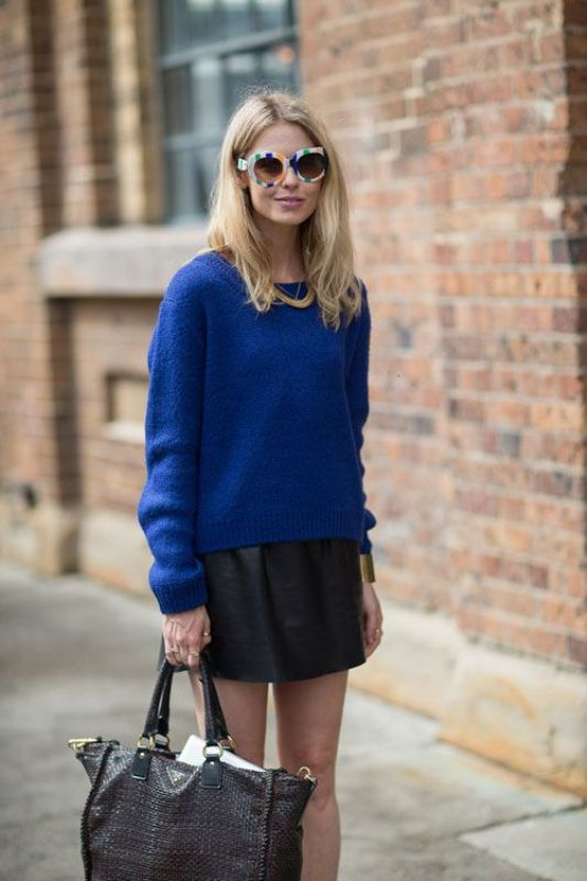 Picture Of cool ways to style a simple sweater for spring  11