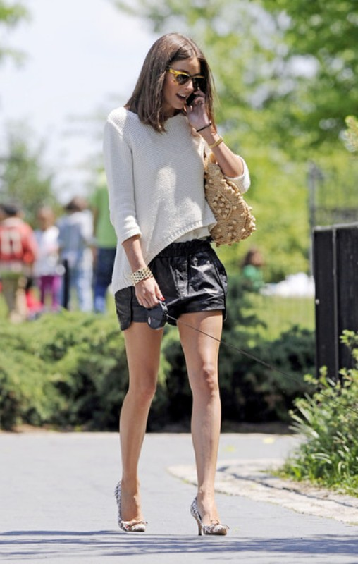 Picture Of cool ways to style a simple sweater for spring  4