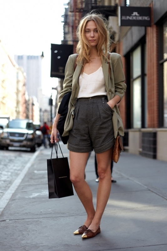 Picture Of fashionable ways to style bermuda shorts this summer  13