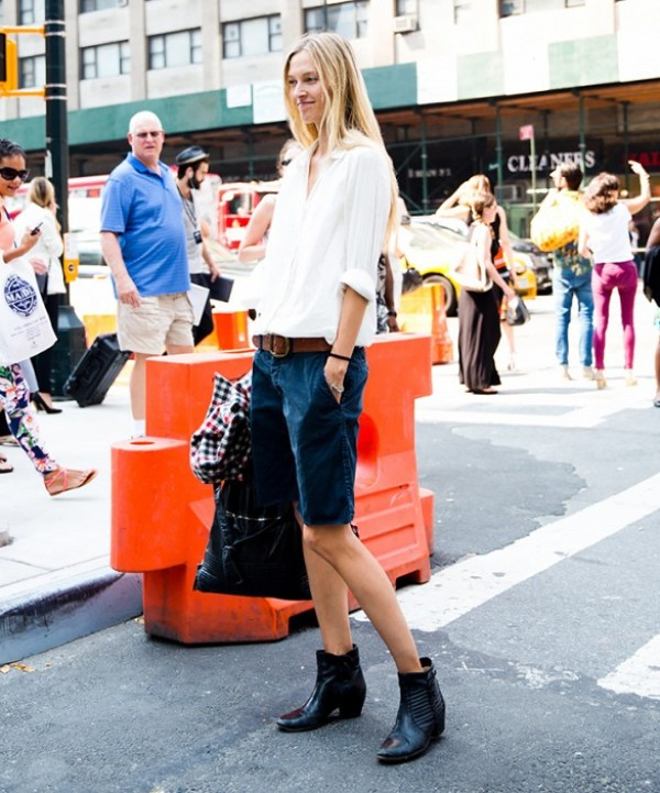 Picture Of fashionable ways to style bermuda shorts this summer  15