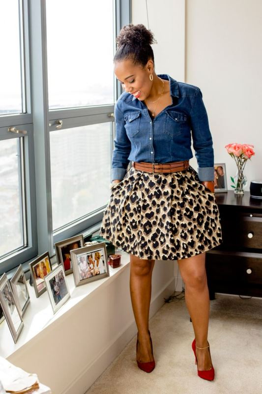 Picture Of new and trendy ways to wear leopard print  3