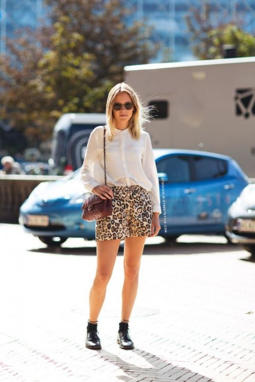 New And Trendy Ways To Wear Leopard Print