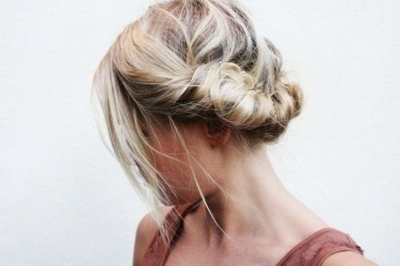 Picture Of pretty twisted hairstyles for summer  12