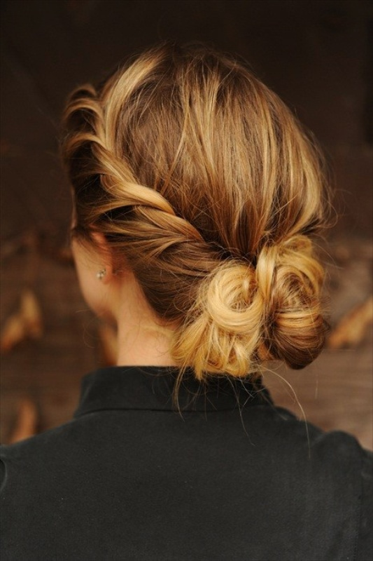 Picture Of pretty twisted hairstyles for summer  2