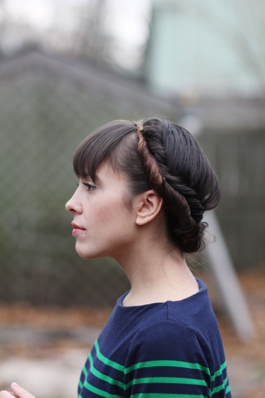 Picture Of pretty twisted hairstyles for summer  5