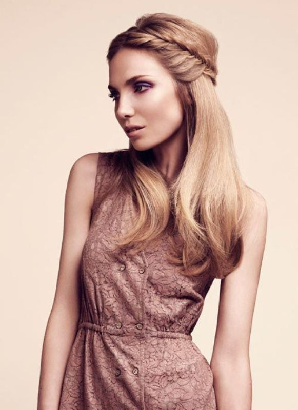 Picture Of pretty twisted hairstyles for summer  7