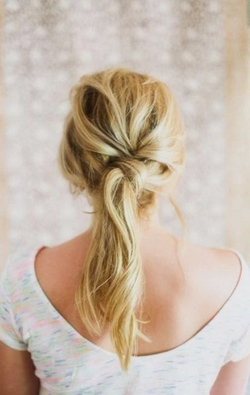 Picture Of pretty twisted hairstyles for summer  9