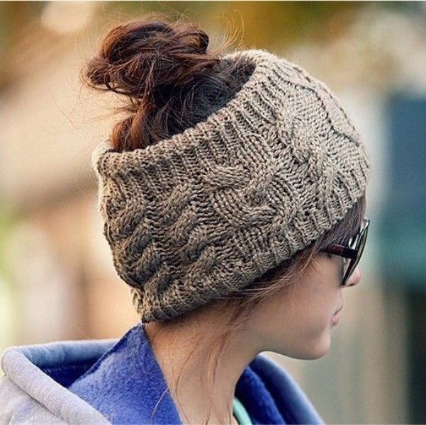 Picture Of ways to style your hair under a hat  9