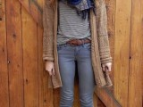 16 Absolutely Cool Outfits With Skinny Grey Jeans This Fall6