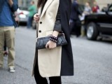 16 Fall Outfits With Two-Tone Coats 15